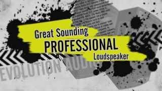 Evolution EL12 Passive PA Speaker Advert