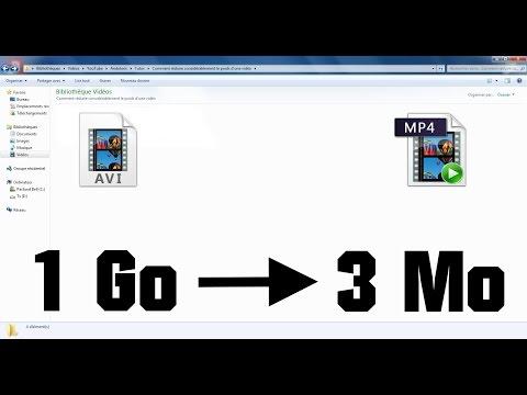 Comment réduire  le poids d'une vidéo sans perdre en qualité