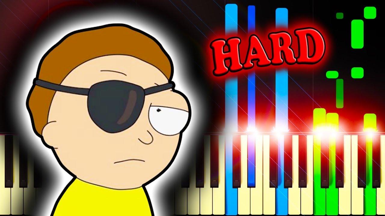 SAD MEME MUSIC: FOR THE DAMAGED CODA - Piano Tutorial