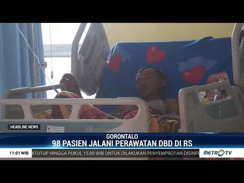 98 Warga Gorontalo Dirawat Akibat DBD - metrotvnews