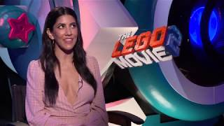 Stephanie Beatriz Interview - The Lego Movie 2: The Second Part