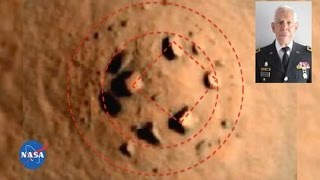United States Major General: There are buildings and structures on the surface of Mars