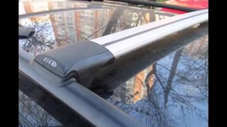 видео Автомобильный багажник на рейлинги на крышу