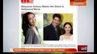 Pelakon Malaysia membintangi filem Hollywood