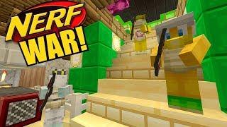 Minecraft Switch - Nintendo Fun House - NERF WAR 3! [GONE VIOLENT!] [140]