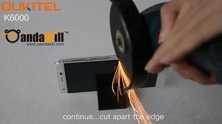 Cut Apart OUKITEL K6000 - Crazy Smartphone 2015