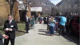 Sister Meservy -- The Provo MTC Drop OFF