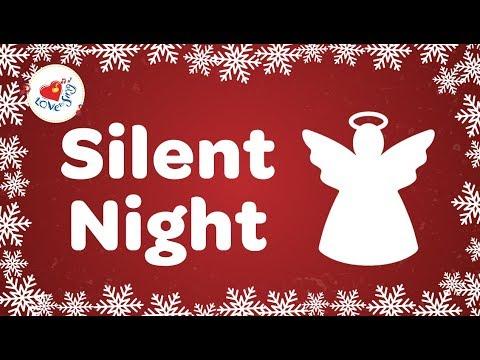 Silent Night With Lyrics 2018 | Christmas Songs and Carols