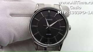 Обзор. Японские наручные часы Casio MTP-1303PD-1A