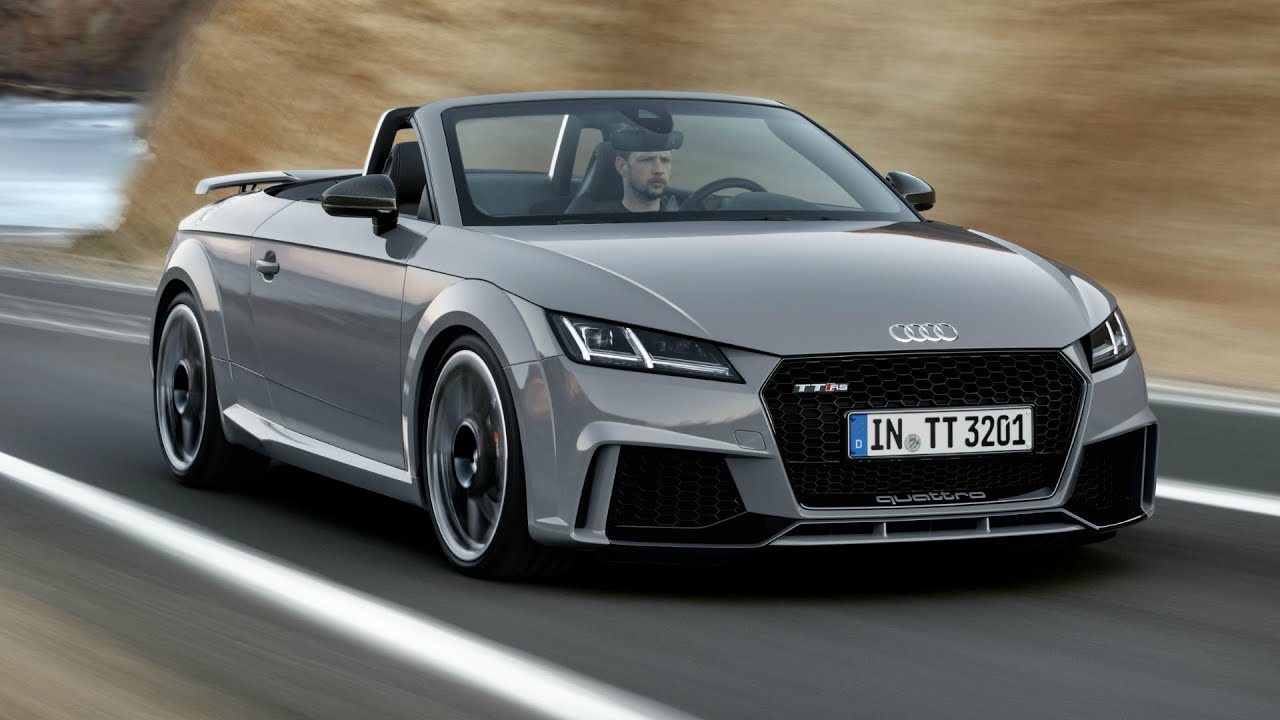 Audi TT RS Roadster Interior Exterior And Drive YouTube - Audi tt convertible