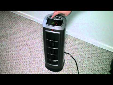 Lasko Ceramic Tower Space Heater with remote