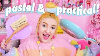 CUTE HOME SUPPLIES HAUL 🏠💕 PASTEL & PRACTICAL!