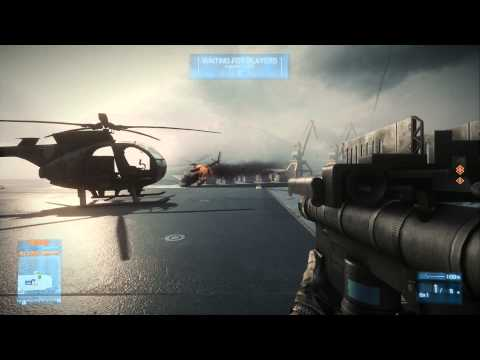 BF3:  How to Dodge a Stinger/Igla Missile With the Scout helicopter [Tutorial]