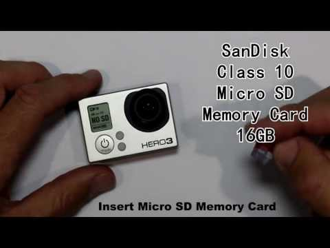 How long can I record for with a 16GB MicroSD card? GoPro HERO3 Black Edition Protune OFF