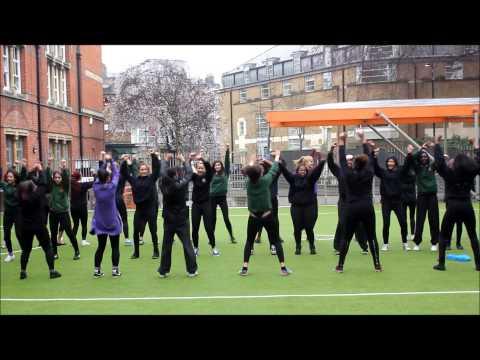 International Women's Day Flashmob- St. Marylebone School Year 11