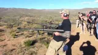 Shooting Two Barrett 50BMG Rifles!!!