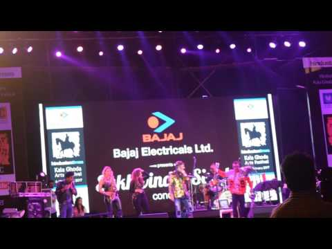 Sukhwinder Singh Performing Udi Udi Jaye Live at Kala Ghoda Art Festival 12th Feb 2017