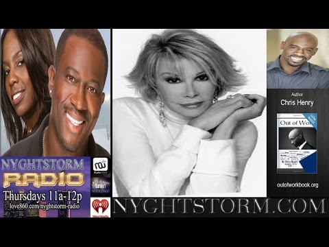 NYGHTSTORM RADIO - LAUGHING IN THE FACE OF ADVERSITY with Chris Henry