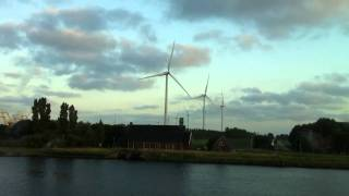 Wind mills off Amsterdam coast