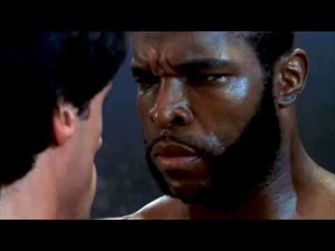 CLUBBER LANG ( Mr.T ) Vs ROCKY - 1st Fight...
