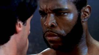 CLUBBER LANG ( Mr.T ) Vs ROCKY - 1st Fight in High Definition (HD)