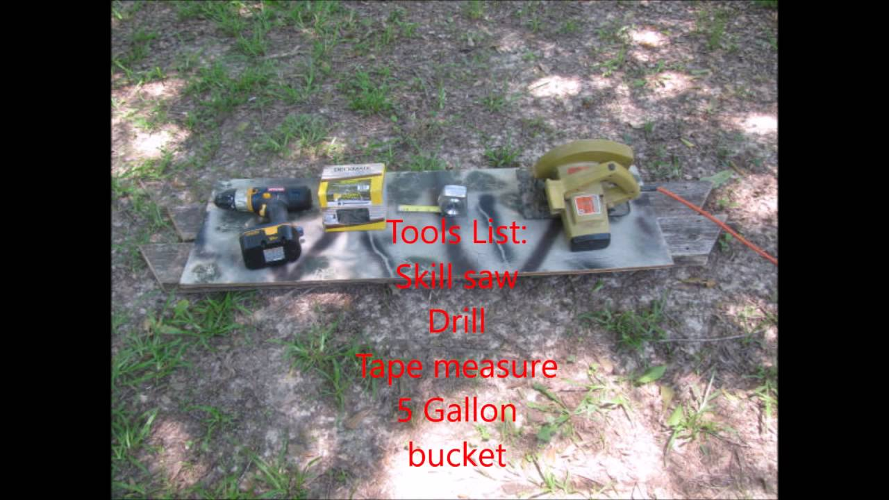 feeder the holes building use drilled hats deer using optional you to and bucket a dailylimit for turkey good inch semi we go base feeders are lid with gallon re hat buckets in
