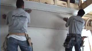 How to drywall a Cove Ceiling