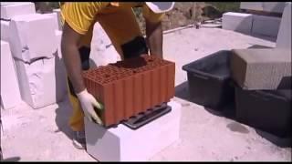 видео ютонг газобетонные блоки