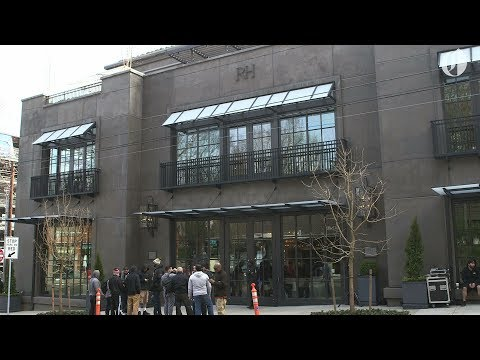 Four-story Restoration Hardware opens across from Northwest 23rd explosion site