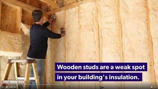 Insulated Studs: I Wood Innovation