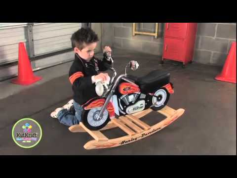 moto enfant jeux pour enfant harley youtube. Black Bedroom Furniture Sets. Home Design Ideas