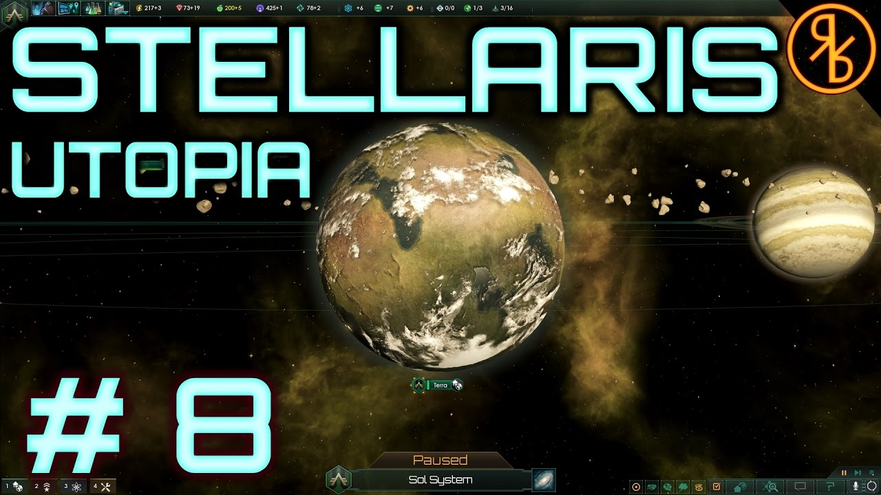Stellaris # 8 | The Constant Calculator | 1 5 Utopia