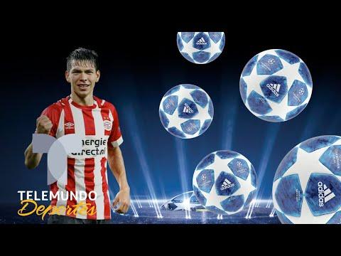 Lozano confirma su momento en Champions | UEFA Champions League | Telemundo Deportes