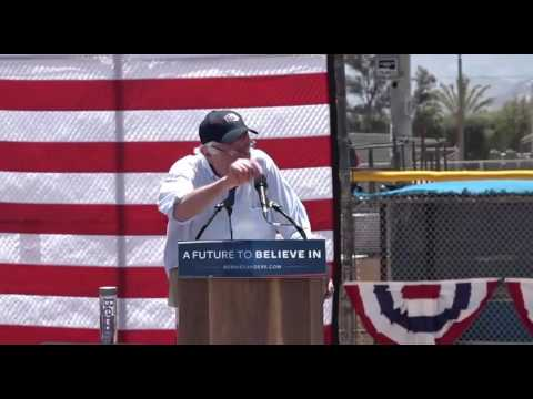 Bernie Sanders Cathedral City Rally FULL Speech