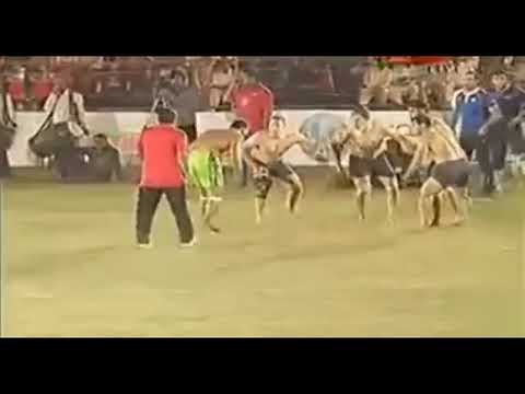 Pakistan And Indian Player Fights Kabaddi