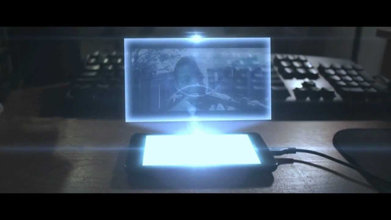 HOLOGRAM SCREEN EFFECT | Adobe After Effects - YouTube