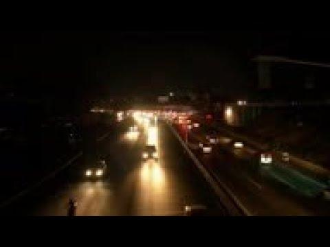 Caracas goes dark in latest power blackout