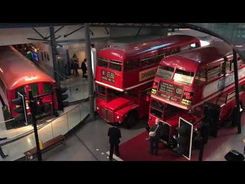 London Transport Museum 2018