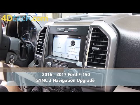 Add Factory Navigation to SYNC 3 | 2016 - 2017 Ford F-150
