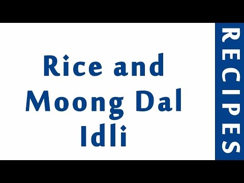 Rice And Moong Dal Idli | POPULAR BREAKFAST RECIPES | RECIPES LIBRARY