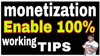 YouTube Monetization 100% Working Tips to Enable YouTube Channel Monetization fast in Hind urdu