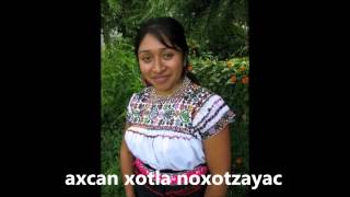CANCION EN NAHUATL