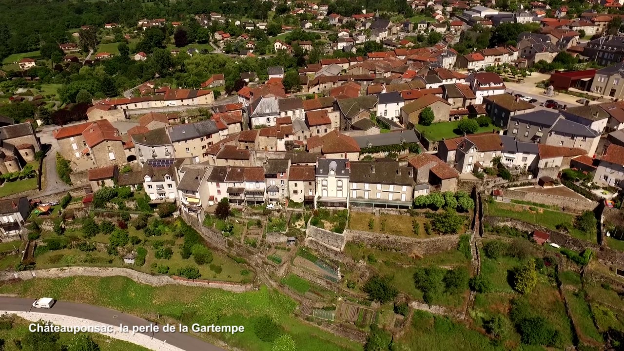 Village de Châteauponsac, la perle de la Gartempe