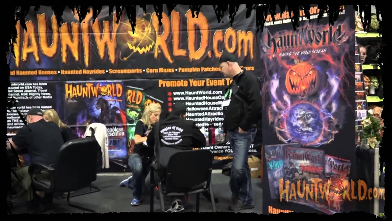 Housedesigners Com Haunted House Designers Halloween Productions Booth
