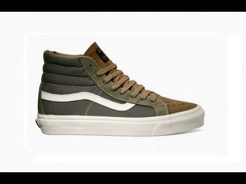603edcd454 Shoe Review  Vans Vault Orginals x WTAPS Sk8-Hi LX (Olive Drab Brown) -  YouTube