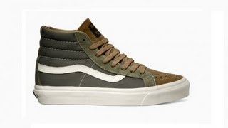 Shoe Review: Vans Vault Orginals x WTAPS Sk8-Hi LX (Olive Drab/Brown)