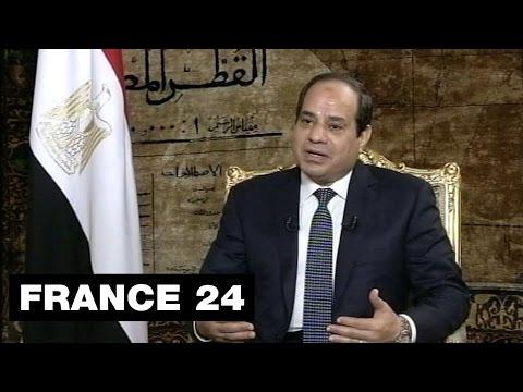 EXCLUSIF : Entretien avec le président égyptien Abdel Fattah al-Sissi