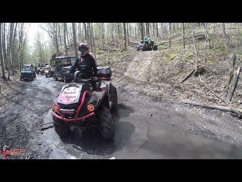 INDIAN RIVER ATV CLUB TRAIL BENEFIT RIDE PT 1