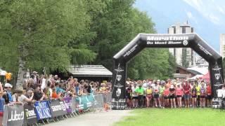 Marathon du Mont Blanc - Chamonix 10k Race - Summer 2015
