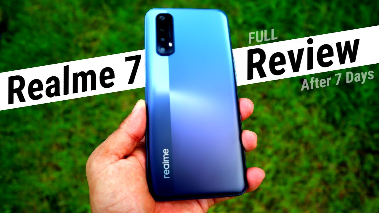 Realme 7 Full Review After 7 Days with Pros & Cons | HINDI | Data Dock
